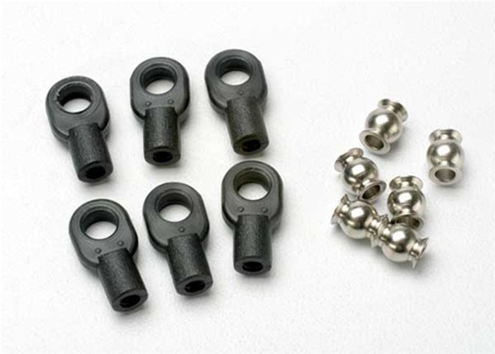 Traxxas Small Rod Ends (steering linkage), 5349