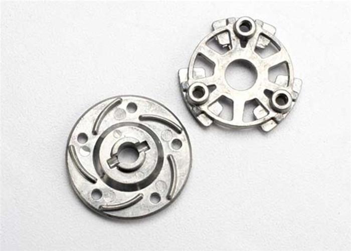 Traxxas Slipper Pressure Plate & Hub (aluminum alloy), 5556