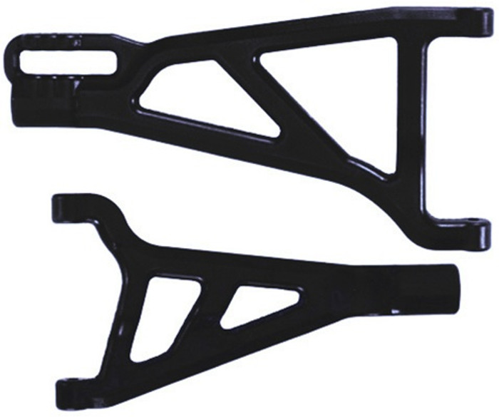 RPM Front Right A-Arms for Traxxas Revo - Black, 80212