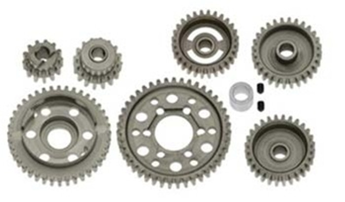 Robinson Racing All Steel Forward Only Gear Wide Ratio Kit for T-Maxx/Revo 3.3, 8007