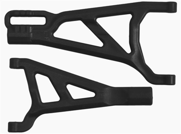 RPM Front Left A-Arms for the Traxxas Summit, Revo, and E-Revo - Black, 70372