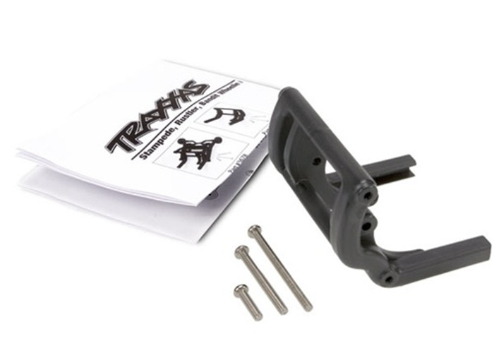 Traxxas Wheelie bar mount & hardware (Stampede/Rustler/Bandit series), 3677