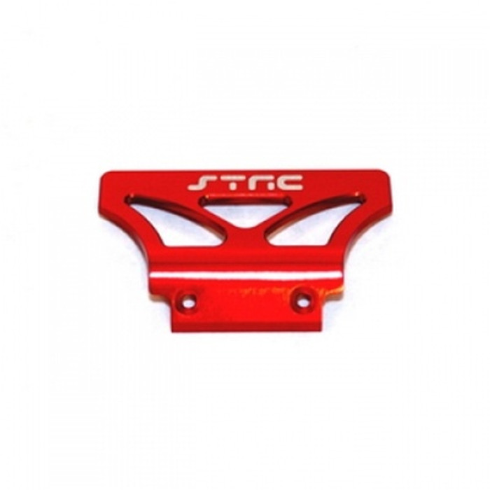 ST Racing Concepts Aluminum Oversized Front Bumper for Stampede/Rustler/Bandit (Red), 2735R