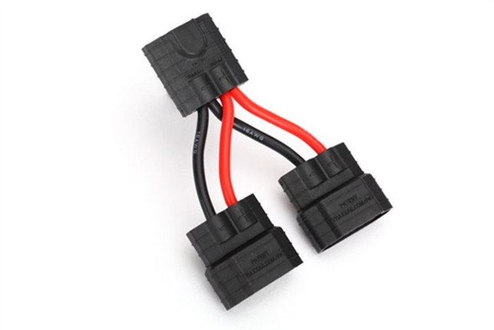 Traxxas Parallel Y-Harness with Traxxas iD Compatible Connectors, 3064X