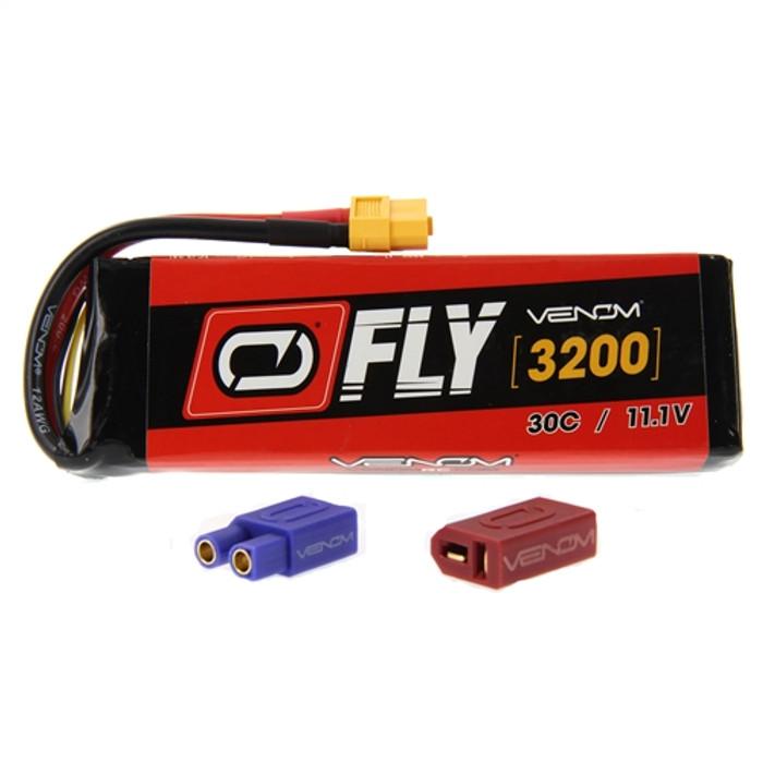 Venom FLY 30C 3200mAh 11.1V LiPo Battery - UNI Plug 2.0, 25007