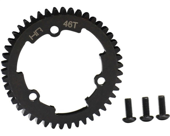 Hot Racing Steel Spur Gear 46T 1 Mod for Traxxas E-Revo 2/X-Maxx/XO-1