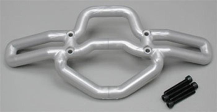 RPM Front Bumper for the Traxxas T/E-Maxx - Metallic Silver, 80106