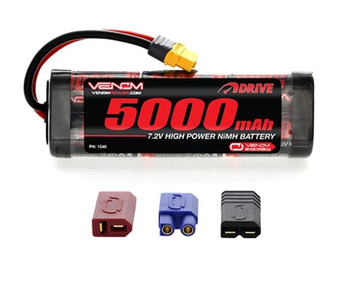 VENOM 7.2V 5000mAh NiMh BATTERY - UNI Plug 2.0, 1548