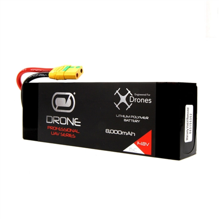 Venom 8000mAh 4S 14.8V Drone Pro LiPo Battery 15C with XT90-S Plug, 35006