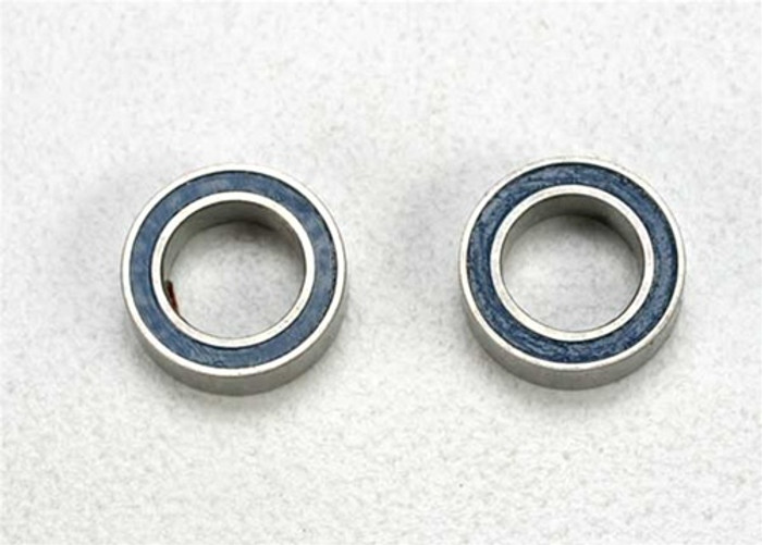 Traxxas Ball Bearings (5x8x2.5mm, blue rubber sealed), 5114