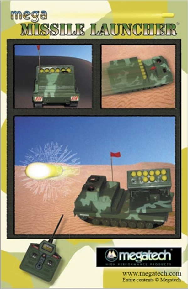 Megatech Mega Missile Launcher User Manual Download