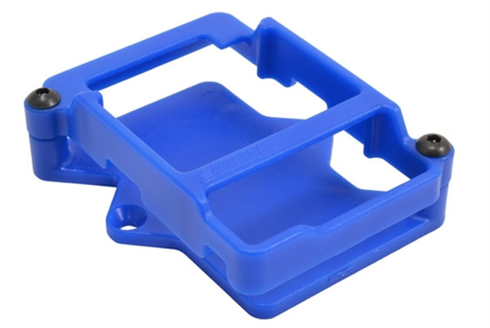 RPM Blue ESC Cage for Traxxas XL-5 and XL-10 ESCs, 73485