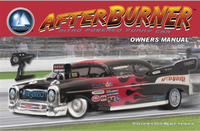 Megatech Afterburner Funny Car User Manual Download