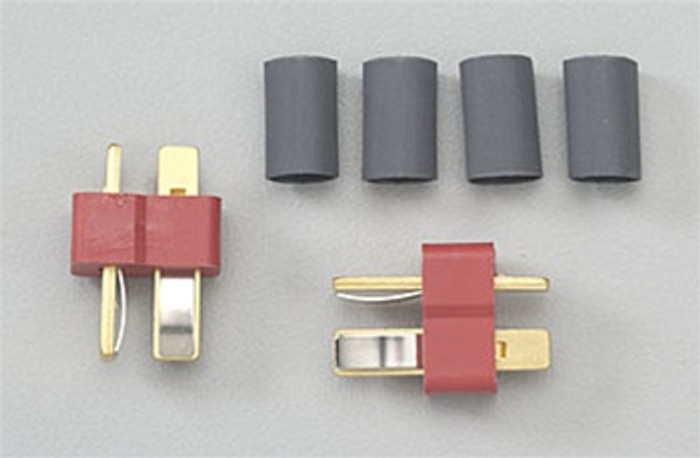Deans Male Ultra Plug 2-Pack