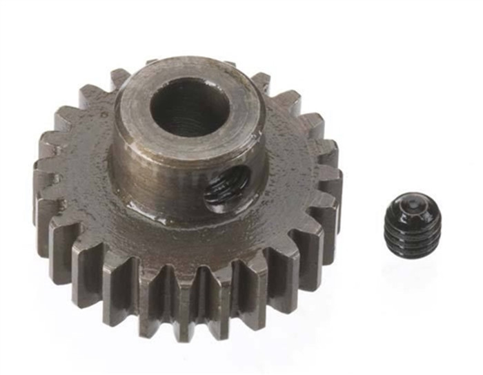 Robinson Racing 24T Extra Hard 5mm Brushless Motor Pinion Gear, 8724