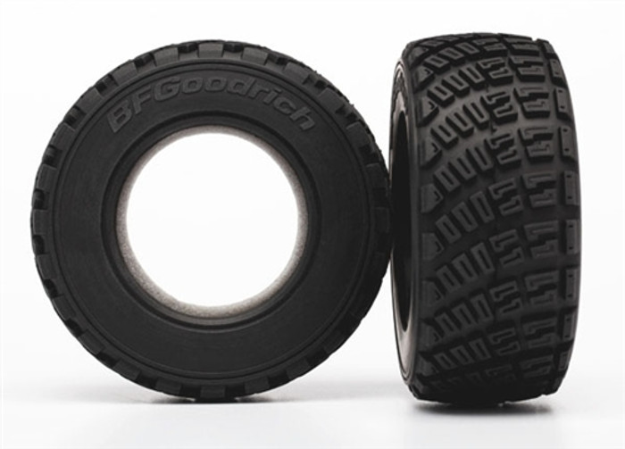 Traxxas BFGoodrich Gravel Pattern S1 Compound Tires for 1/10 Rally VXL Car, 7471R