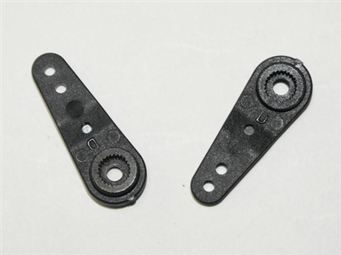 DHK Servo Arm-D (2 pcs) for Crosse/Wolf 2, 8381-9S4