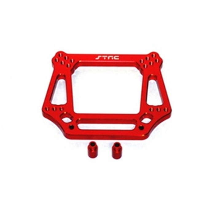 ST RACING CNC Machined Aluminum 6mm HD Front Shock Tower (Red), 3639R