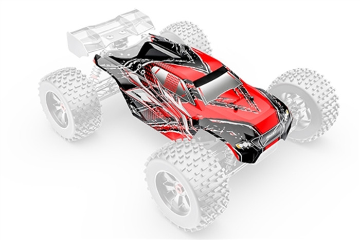 Team Corally Kronos XP Painted PC Body - 1/8, C-00180-379
