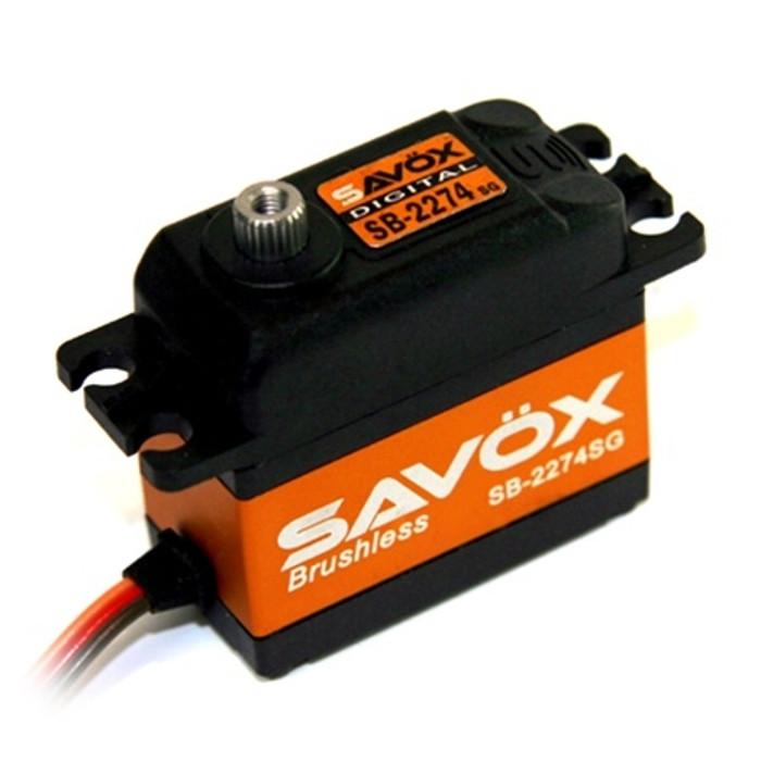 Savox SB-2274SG High Speed Brushless Steel Gear Digital Servo