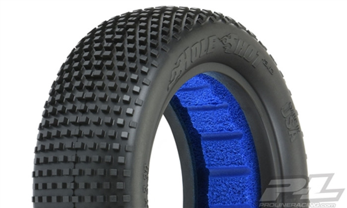 "Pro-Line Hole Shot 3.0 2.2"" M4 Super Soft 2WD Off-Road Buggy Front Tires, 8290-03"