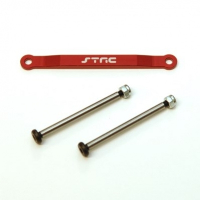 ST Racing Concepts Aluminum Hinge-Pin Brace Kit (Red), 2532XR