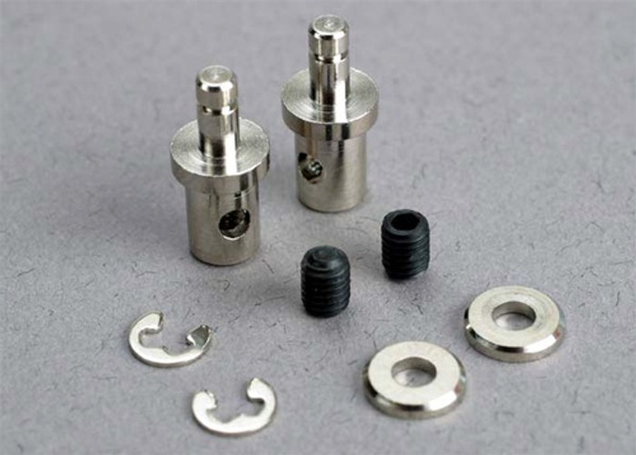Traxxas Servo Rod Connectors and Set Screws for Villain EX and Blast, 1541