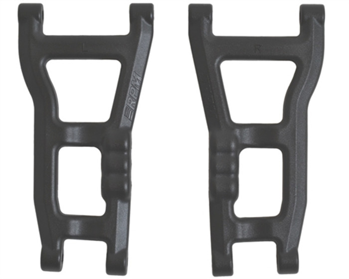 RPM Rear A-Arms for Traxxas Nitro Slash 2WD - Black, 73652