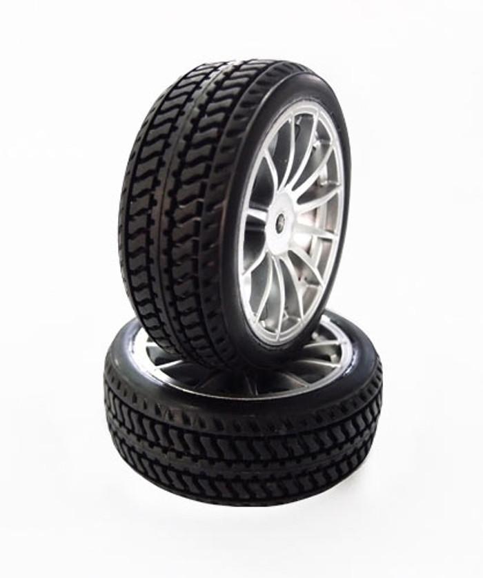 Carisma M40S Mercedes AMG DTM Wheels and Tires Set, 15345