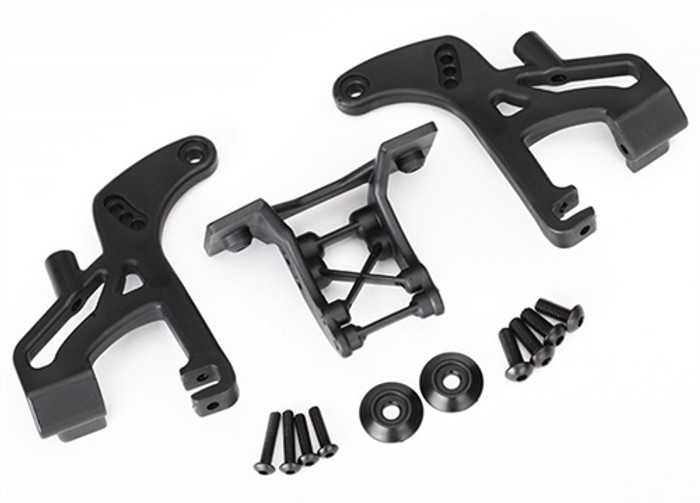 Traxxas Low Profile Wing Mounts for E-Revo Brushless, 8616
