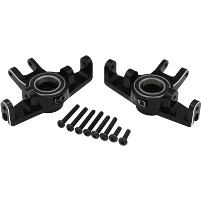 Hot Racing Aluminum HD Steering Blocks for the Unlimited Desert Racer