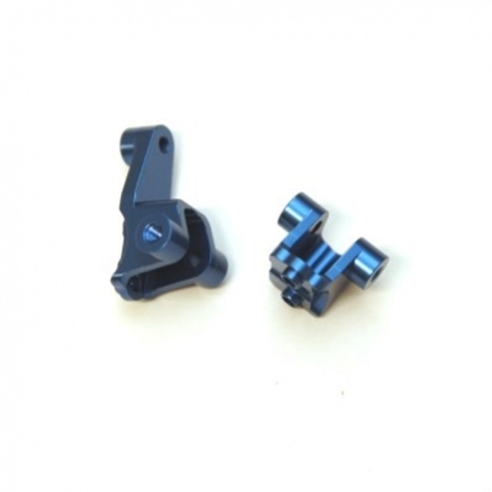 ST RACING Aluminum Front Lower Shock Mounts for TRX-4 (Blue), 8227FB