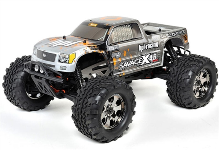 HPI Racing Savage X 4.6 Big Block RTR 1/8 Nitro Monster Truck, 109083