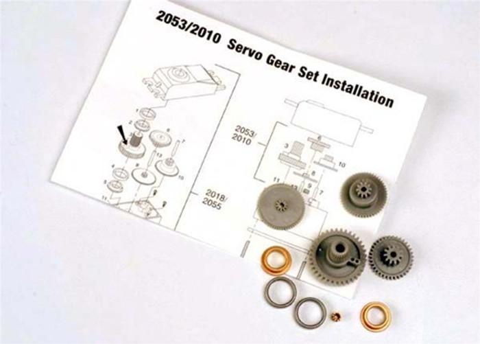 Traxxas Servo Gears for 2055 and 2056 servos, 2053