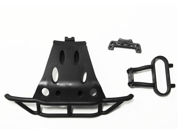 DHK Front Bumper and Front Upper Suspension Arm Mount for the Hunter SCT, 8135-705T