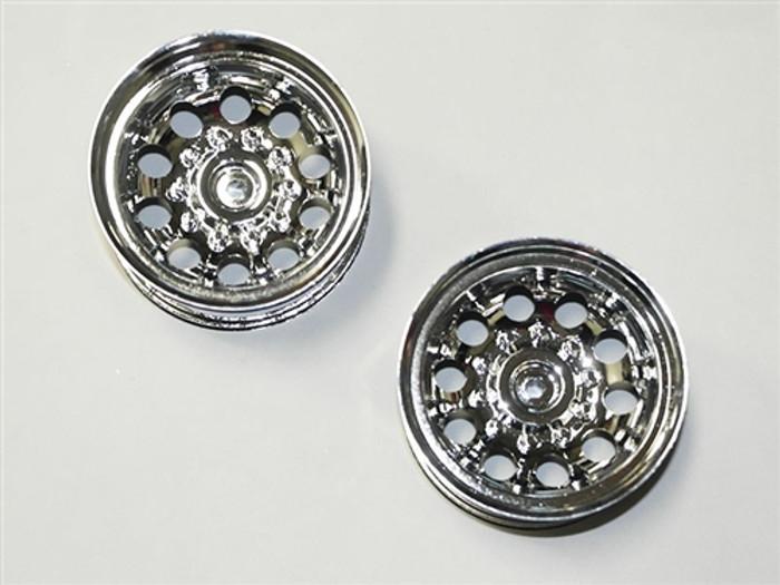 DHK Chrome Wheels (2-pcs) - Crosse, 8136-006