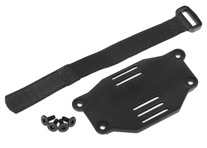 Traxxas Battery Plate and Strap for TRX-4 Ford Bronco, 8223