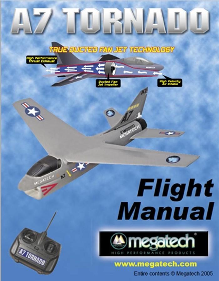 Megatech A7 Tornado Airplane User Manual Download