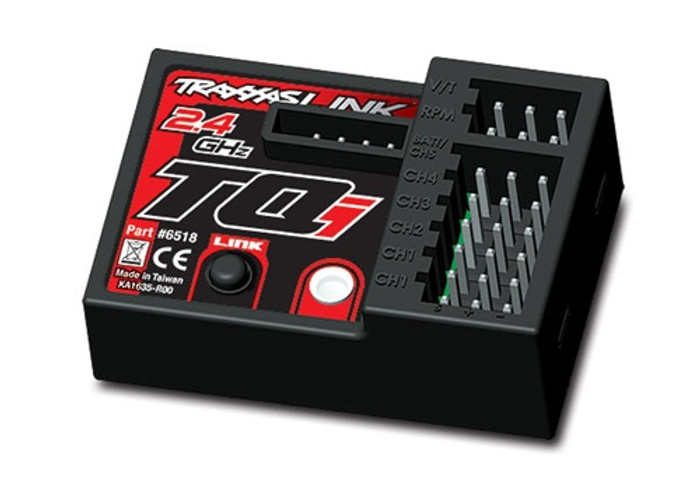 Traxxas Micro Receiver for TQi 2.4GHz Radio with Telemetry (5-Ch), 6518