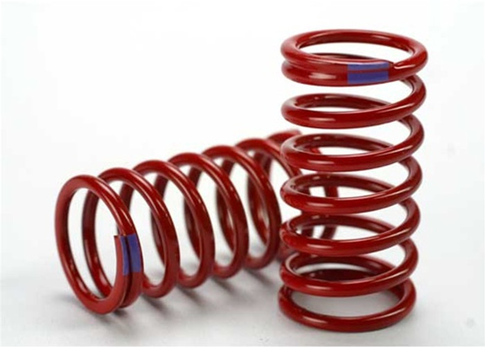 Traxxas Red GTR Shock Spring 6.4 Rate Purple Revo, 5445