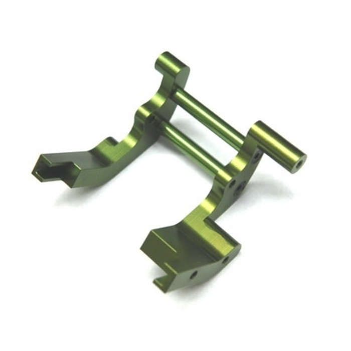 ST Racing Concepts Aluminum Rear Motor Guard for Traxxas Trucks (Green)