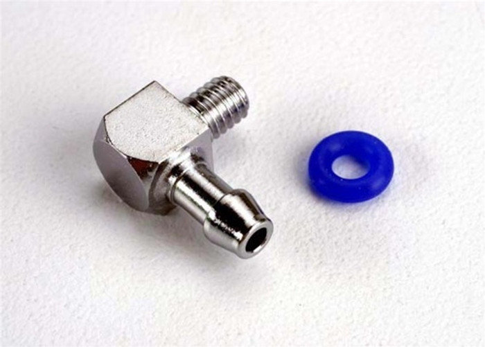 Traxxas Fitting Inlet for Pipe Pressure 90-degree, 5296