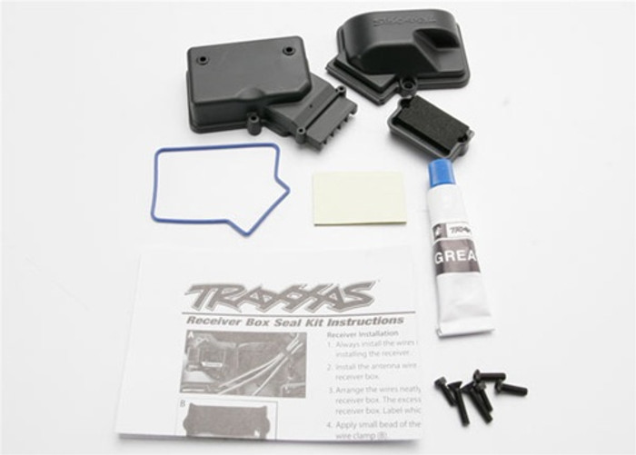 Traxxas Receiver Box Sealed, 3924