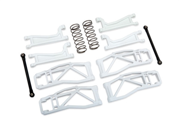 Traxxas White WideMaxx Kit for Maxx 4S, 8995A