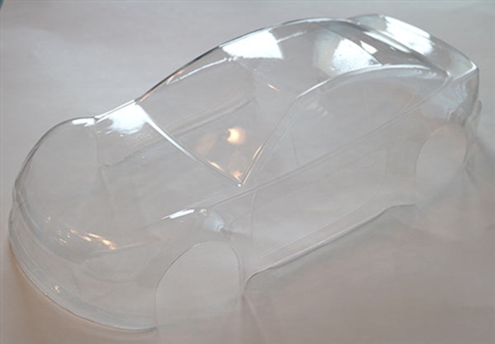 DHK Clear Body for the Sportra Sedan, 8139-009