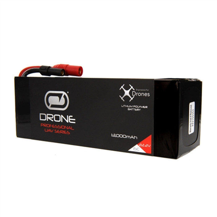 Venom 13000mAh 6S 22.2V Drone Pro LiPo Battery 15C with XT150/AS150 Plug, 35002