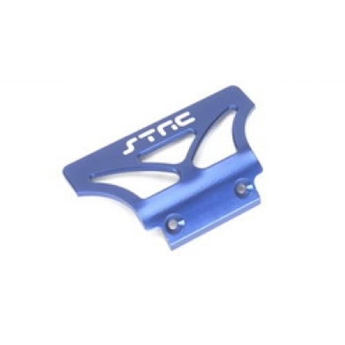 ST Racing Concepts Aluminum Oversized Front Bumper for Stampede/Rustler/Bandit (Blue), 2735B