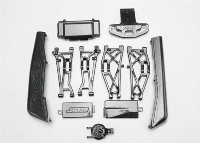 Traxxas Complete Exo-Carbon Kit Jato 3.3, 5522G