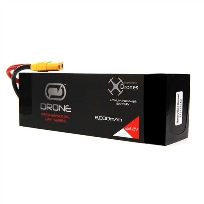Venom 8000mAh 6S 22.2V Drone Pro LiPo Battery 15C with XT90-S Plug, 35003
