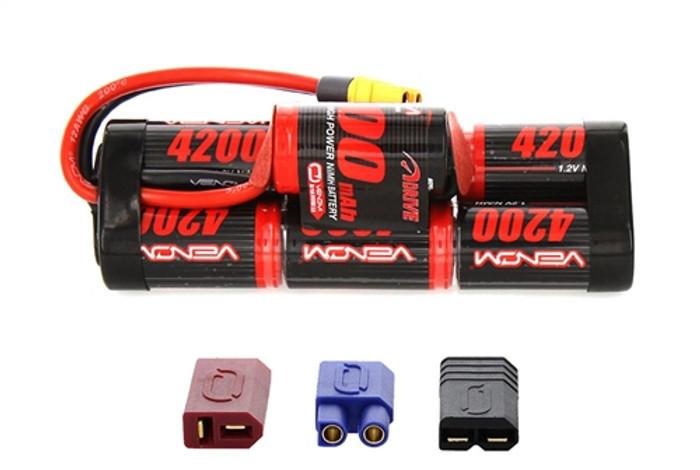 Venom 8.4V 4200mAh NiMh Hump Battery - UNI Plug 2, 1546-7